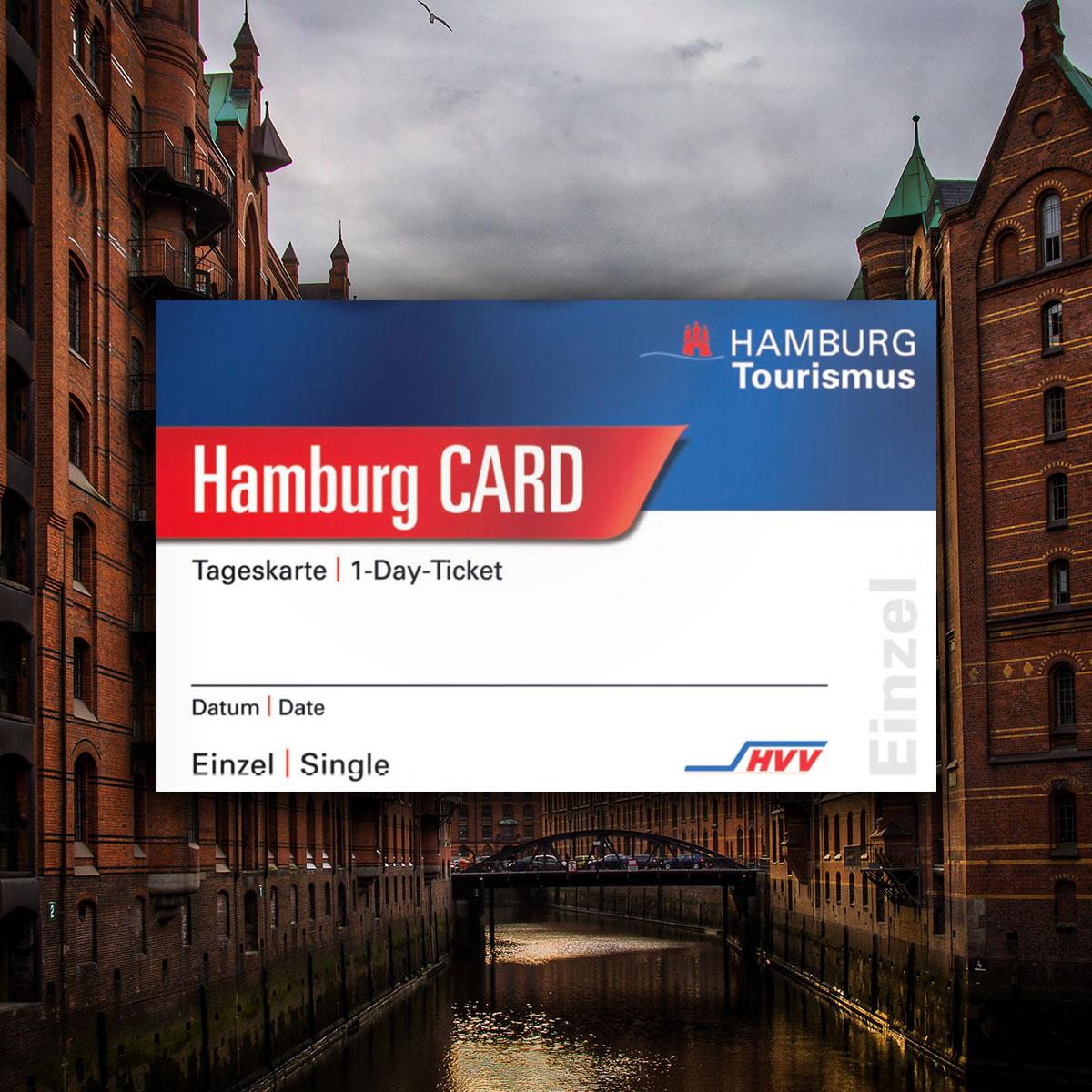 Hamburg Card kaufen in der Pension schmidt